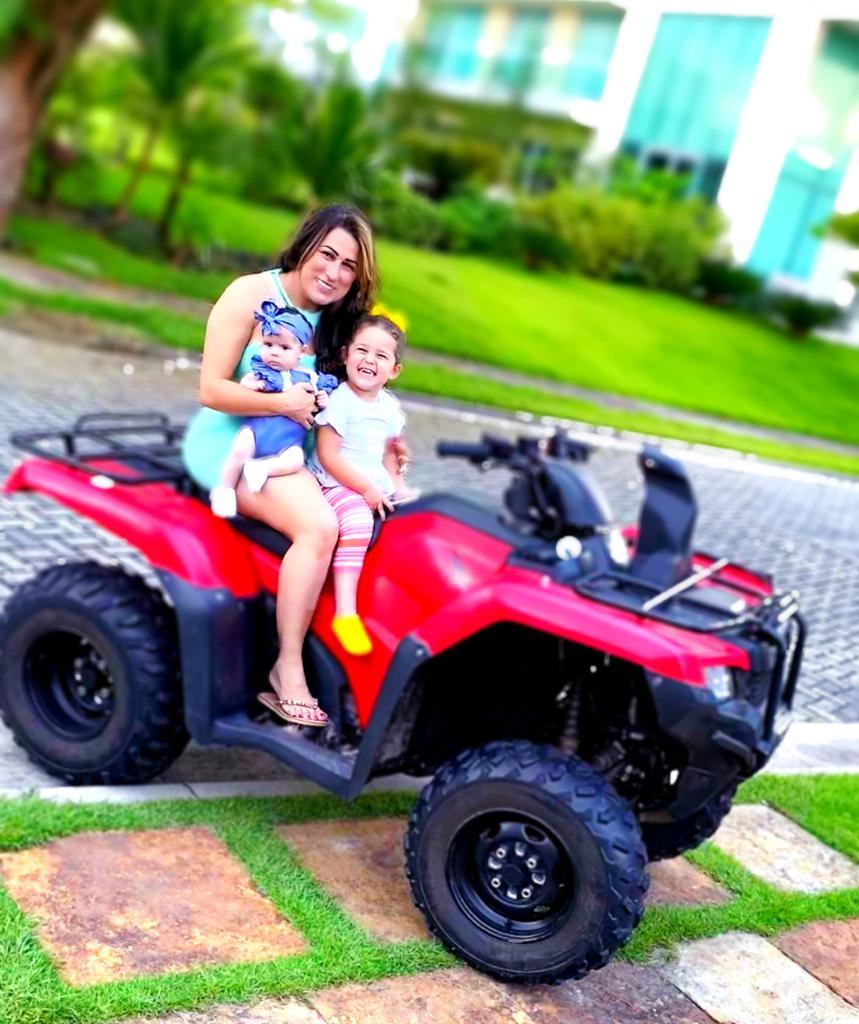 WhatsApp Image 2020 07 01 at 23.30.13 - Influencer Rubia Martins se destaca na quarentena com postagens com suas filhas